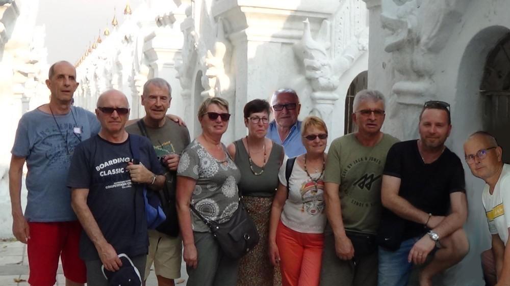 notre groupe de voyageurs